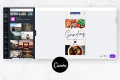 Instagram Story Templates for Canva | Torn Paper Product Image 6