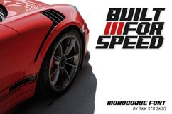 MONOCOQUE - Gaming Font Product Image 3