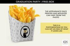 Girl Graduation party fries box, graduate printable decor Product Image 2
