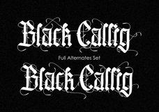 Black Callig Product Image 3