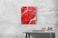 20 Photos Raw beef steaks on cutting Board. Backgrounds Product Image 4