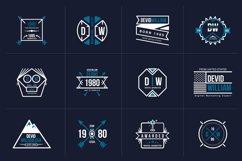 Retro Badge Logo Collection Bundle Product Image 6
