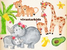 Mother and baby animals clipart Product Image 5