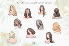 Watercolor abstract women collection Product Image 2