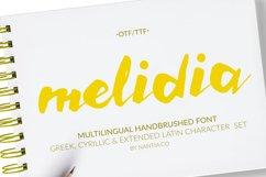 HandBrushed Greek, Cyrillic Typeface, Melidia Font Product Image 3