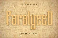 Web Font Paralyzed Font Product Image 1