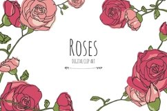 Roses - Digital Clip Art Product Image 1