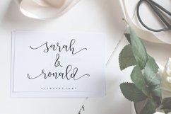 Aliquest Script Font Product Image 6