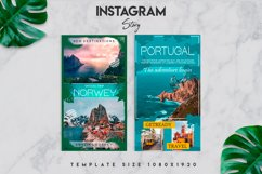 7 travel instagram story template Product Image 3