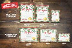 Elf Adoption Printable Certificate | Toy Kit Bundle Product Image 2
