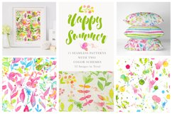 Happy Summer Seamless Patterns Product Image 1