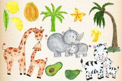 Mother and baby animals clipart Product Image 2