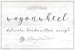 Wagonwheel Delicate Handwritten Script Font Product Image 1