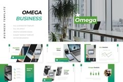 Omega Business Powerpoint Product Image 1