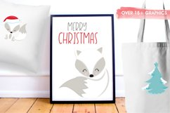 Winterland Fox graphics and illustrations Product Image 5