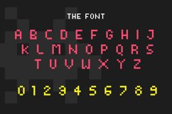 Video Game Font Product Image 2