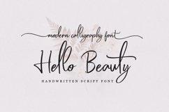 Hello Beauty - Handwritten Font Product Image 1
