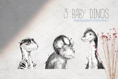 BABY DINOS watercolor set Product Image 3