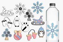 Winter clip art illustrations Product Image 1