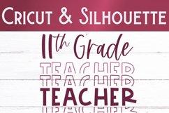 Eleventh Grade Teacher SVG   Teacher Shirt SVG Product Image 2