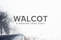 Walcot Modern Sans Serif Font Product Image 1