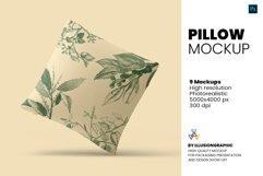 Pillow Mockup - 9 views Product Image 1