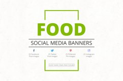 Food Social Media Banners Product Image 1