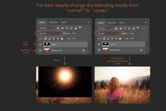 Golden light photoshop overlays Product Image 6