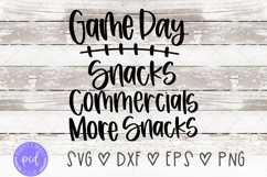 Game Day Checklist SVG, Football Shirt, Sport Fan Product Image 1