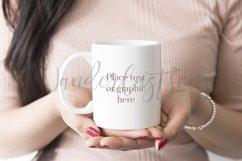 White mug mockup Product Image 1