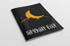 Web Font Nightfall - Cute Monoline Font Product Image 6