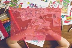 Honey Bunch, a childish handwritten font with skinny lines Product Image 2