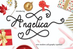 Angelica signature script Product Image 1