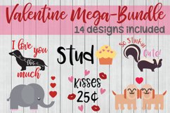 Valentine SVG Mega Bundle, Love SVG Bundle Product Image 1