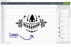 DIY Face Mask Design Kit Svg Cut Files Product Image 5
