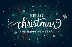 Hello Christmas - Modern Calligraphy Product Image 6