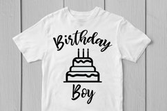 Happy Birthday Boy - Birthday SVG EPS DXF PNG Cutting Files Product Image 3