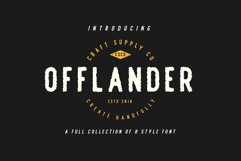 Offlander - Font Family Product Image 4