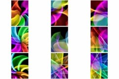110 Photographs of Abstract Neon Swirls and Lines Product Image 2