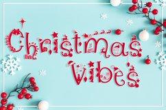 Christmas Fonts Bundle   Christmas Monogram Font Product Image 2