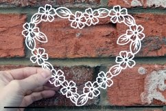 Heart paper cut SVG / DXF / EPS files Product Image 2