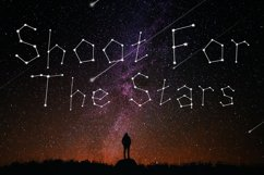 Written in Stars, Constellation Zodiac Font! Product Image 6