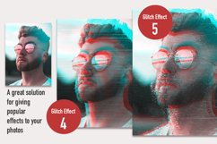 Glitch Effect Set for Photoshop. Product Image 5