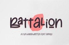 Battalion - Handwritten Font Family Product Image 1