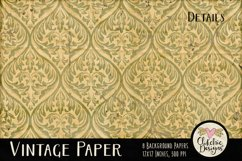 Vintage Paper Backgrounds - Vintage Texture Digital Papers Product Image 3