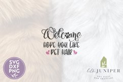 Hope You Like Pet Hair SVG Files, Farmhouse SVG Product Image 2