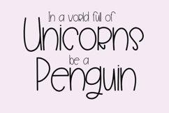 Penguin Farts - A Fun Handwritten Font Product Image 2