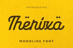 Therixa Font Product Image 1