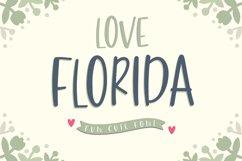 Love Florida - Fun & Cute Font Product Image 1