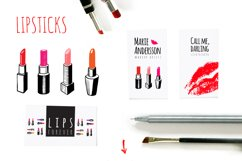 Red lips kit Product Image 3